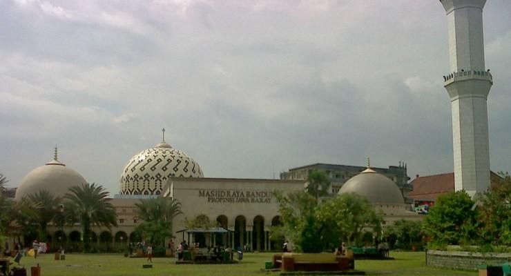 Mesjid-Mesjid Terkenal di Kota Bandung