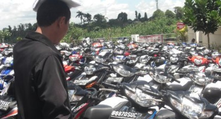Penjualan Motor Bekas Ciateul