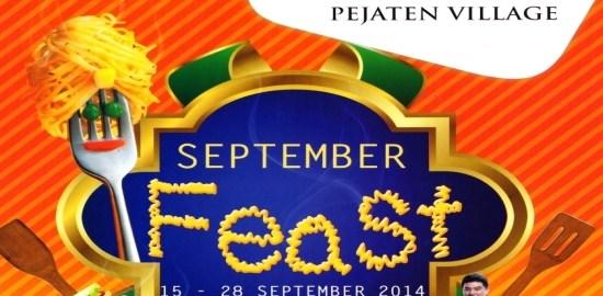 Pejaten Villa September Feast_