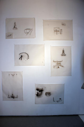 documentation of drawings of Monuments and Airplanes
