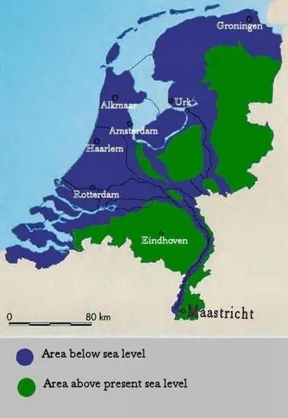 netherlands sea level