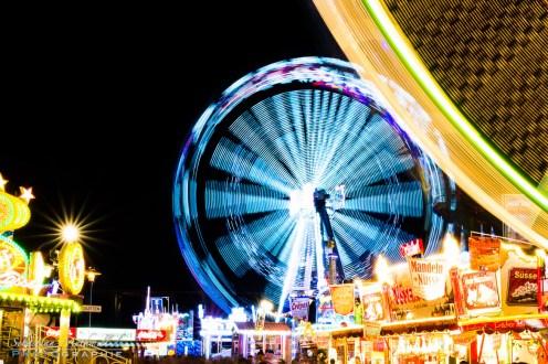 Nachtbild Wurstmarkt 2014