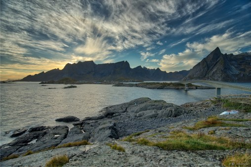 Sunrise at Lofoten Islands