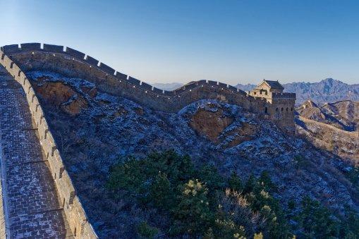 Great Wall near Jinshan