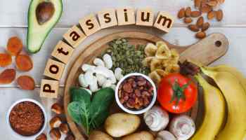 potassium rich foods blood pressure health
