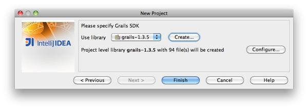 Project Grails Version