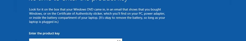 Retrouvez votre clé Windows 8.1