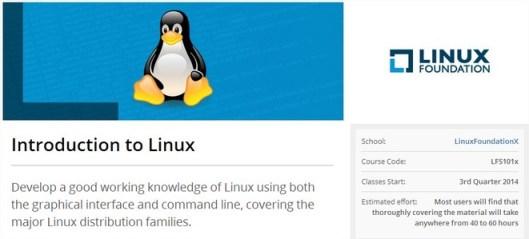Cours Linux gratuits avec edX-LinuxFoundationX LFS101x  Introduction to Linux