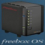 Freebox revolution se transforme en NAS