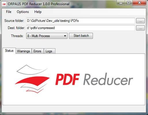 Les meilleurs logiciels 2013 Bureautique - OPALIS PDF Reducer