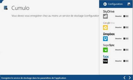 Les meilleurs logiciels 2013 Cloud et Partage - Cumulo