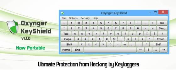 Les meilleurs logiciels 2013 Securite - Oxynger KeyShield