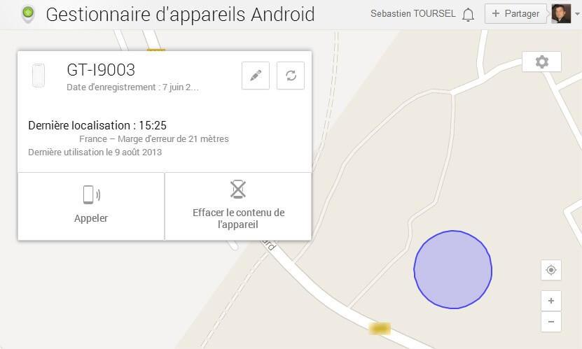 localiser mon iphone avec windows 8.1