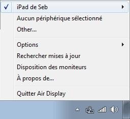 Multimédia-Double écran-AirDisplayPC