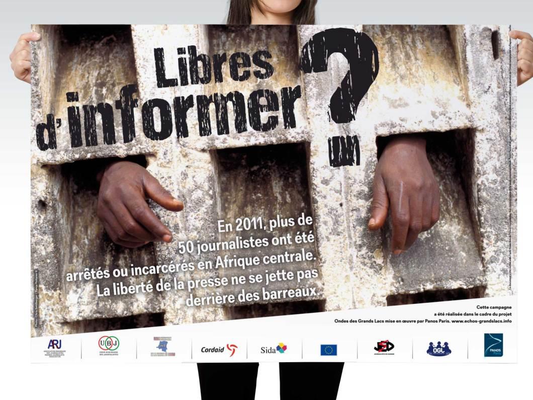 Affiche Libre d'informer