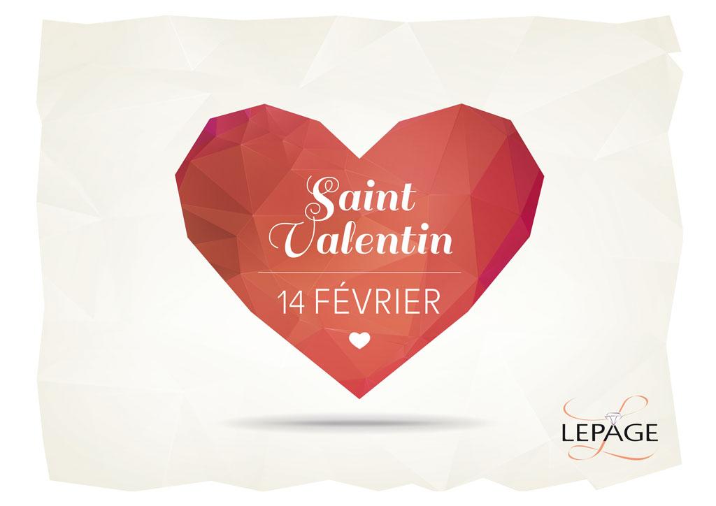 Affiches Lepage Saint-Valentin