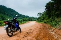 Motor biking around Tha Lang.