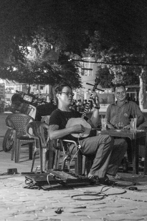 Local life music in Phan Thiet.