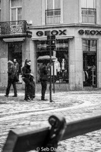 photographier Neige Noir blanc