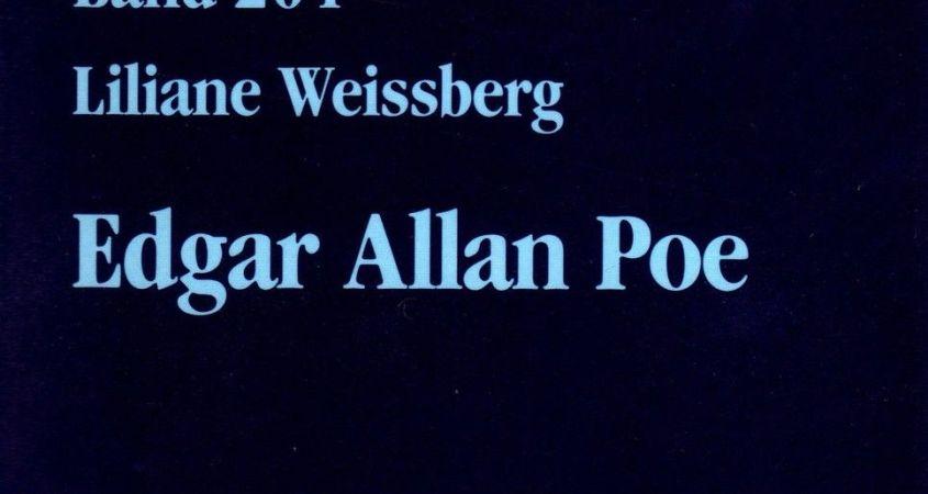 Liliane Weissberg - Edgar Allan Poe