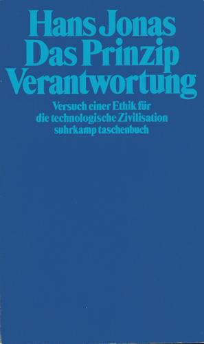 Hans Jonas - Das Prinzip Verantwortung