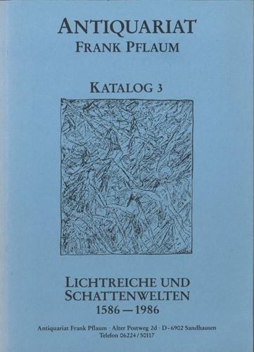 Versandantiquariat Frank Pflaum - Katalog 3
