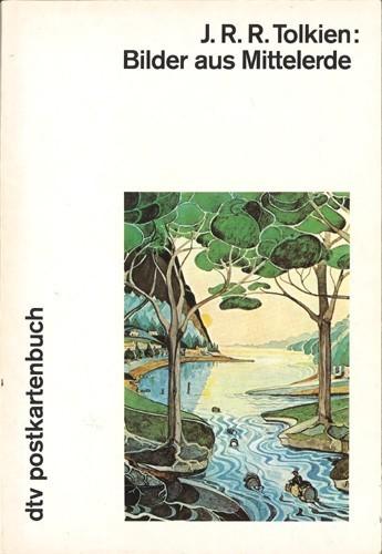 J.R.R. Tolkien - Bilder aus der Mittelerde.(Postkartenbuch)