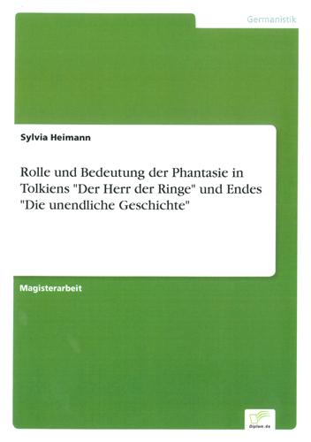 Sylvia Heimann - Rolle und Bedeutung der Phantasie …