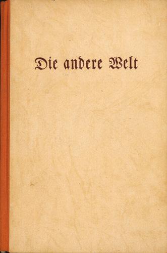 Fritz Mack (Hrsg.) - Die andere Welt