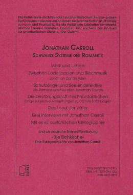 Jonthan Carroll – Rückencover