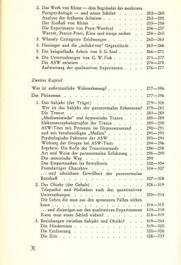 Das Zwischenreich – Inhaltsverzeichnis Seite 4