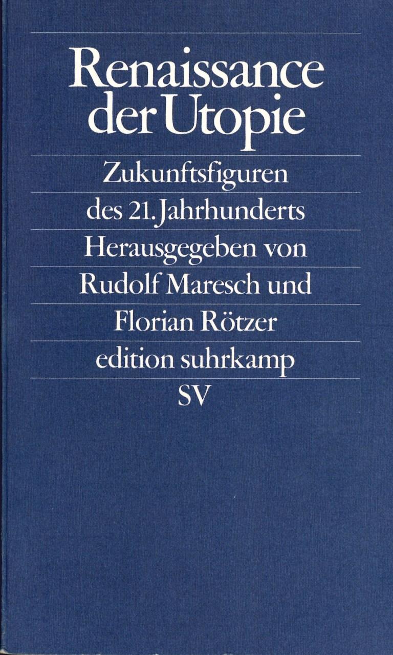 Renaissance der Utopie - Titelcover