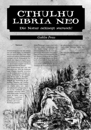 Cthuluhu Libria Neo - Nr. 6, DIe Natur schlägt zurück