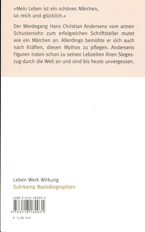 Hans Christian Andersen - Rückencover