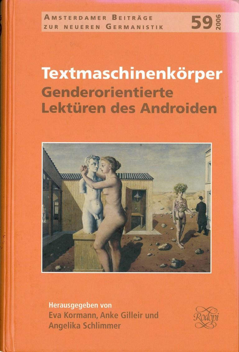 Textmaschinenkörper - Titelcover