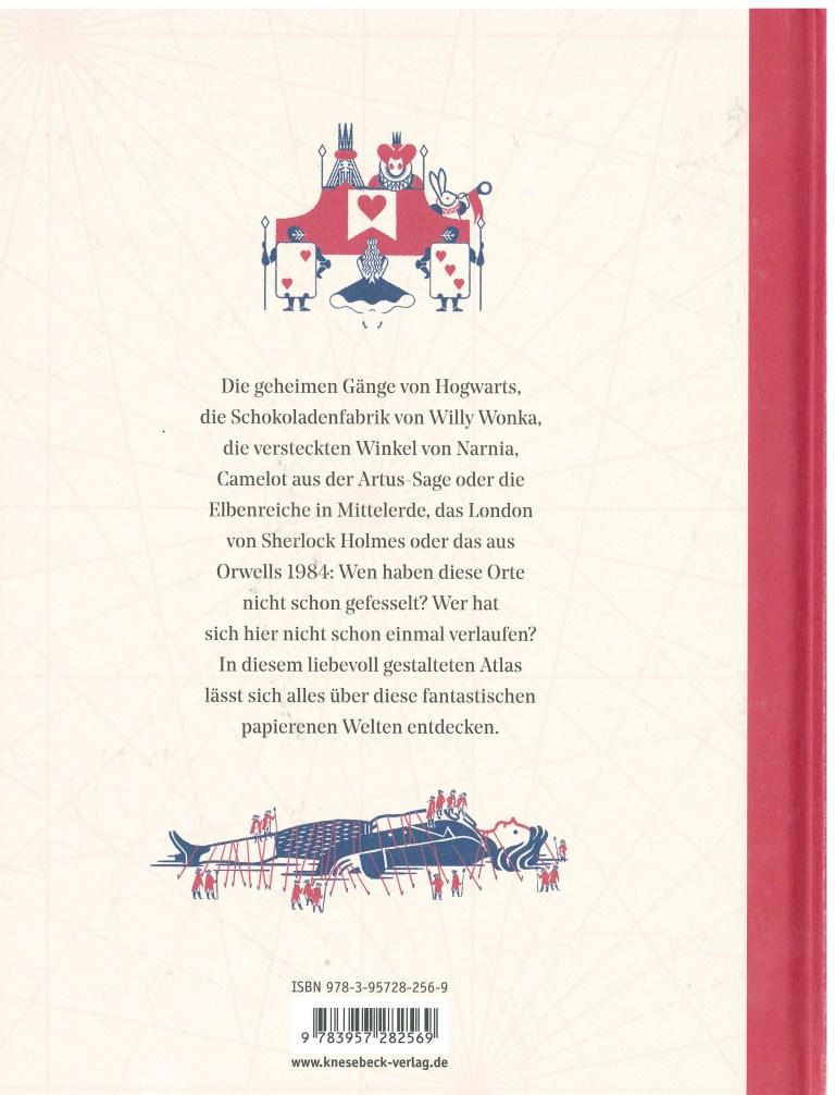 Atlas literarischer Orte - Rückencover
