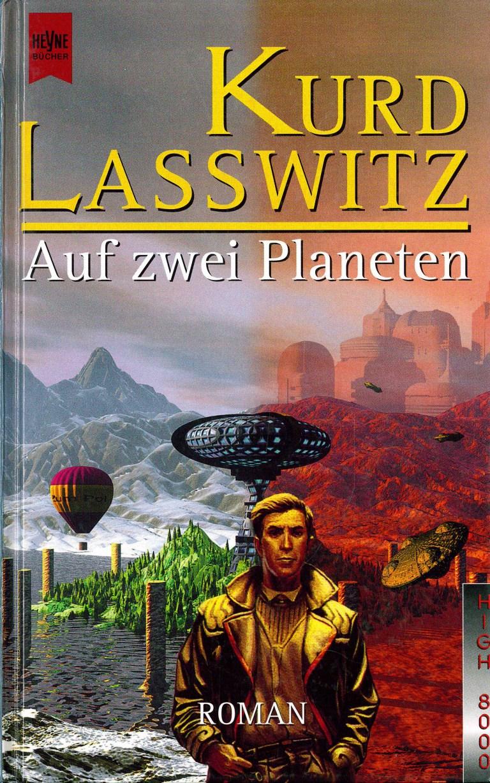 Auf zwei Planeten - Titelcover