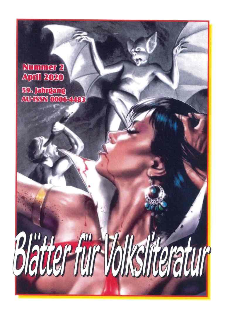 Blätter für Volksliteratur, Heft 2/2020 - Titelcover