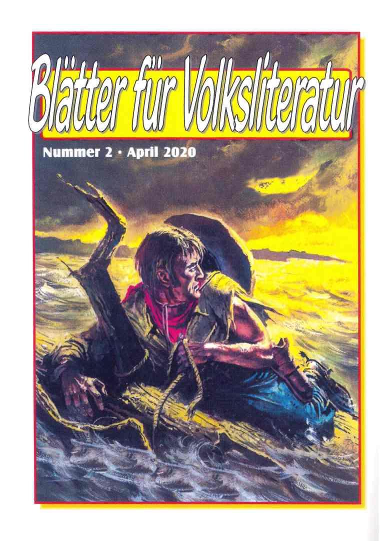 Blätter für Volksliteratur, Heft 2/2020 - Rückencover