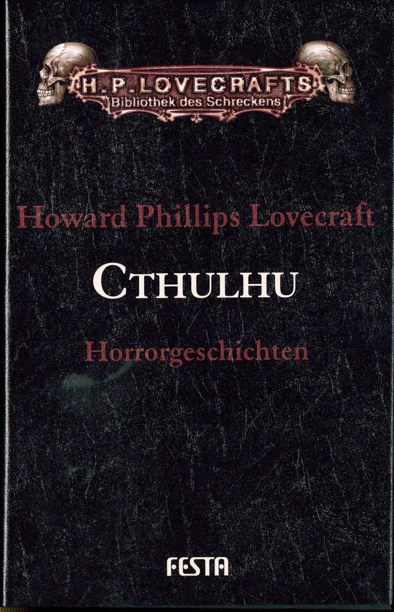 Cthulhu-Horrorgeschichten - Titelcover