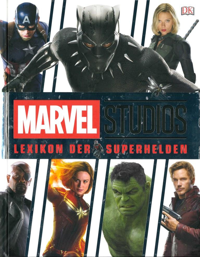 Lexikon der Superhelden-Marvel - Titelcover
