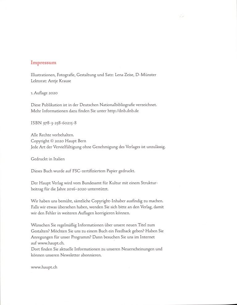 Schreibschriften - Impressum