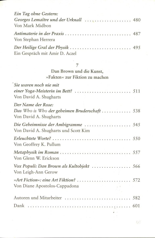 Die geheime Bruderschaft - Inhalt Seite 5