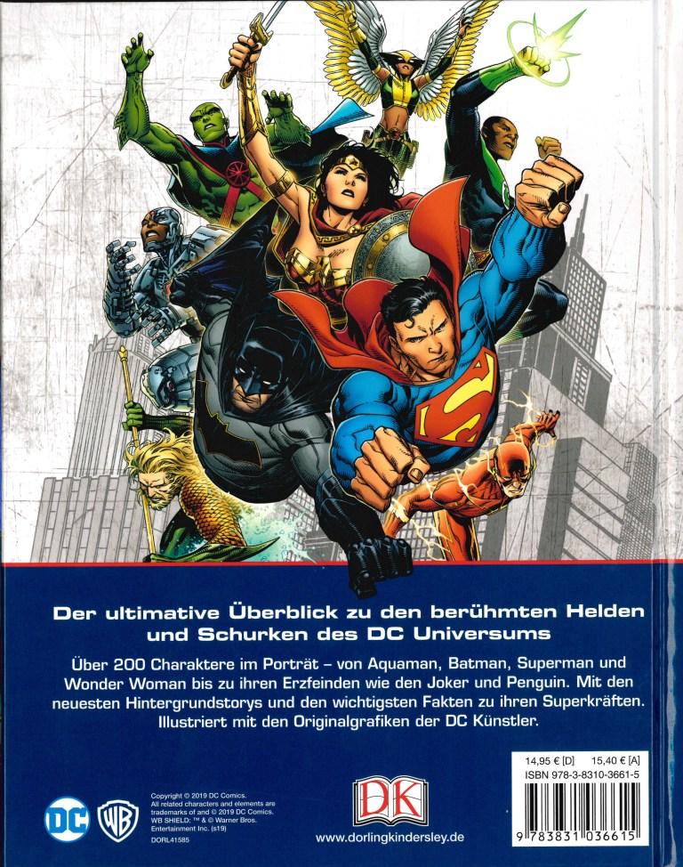 Das grosse Superhelden-Lexikon - Rückencover