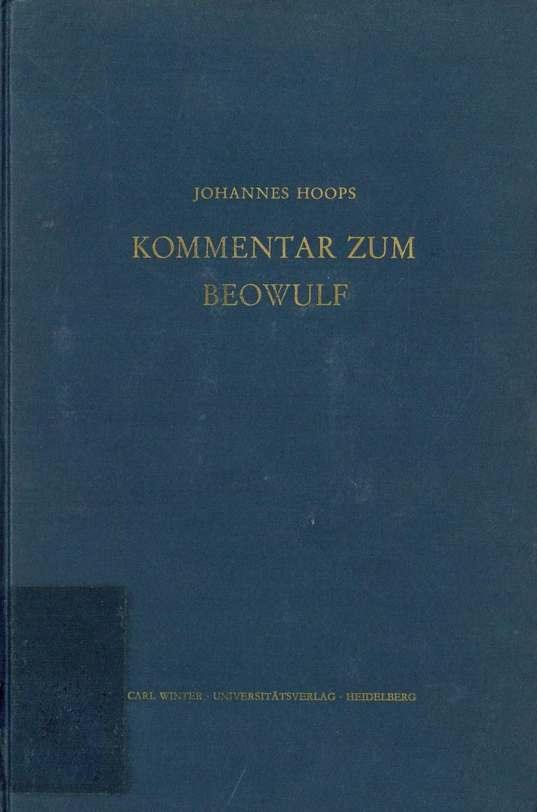 Kommentar zum Beowulf - Titelcover