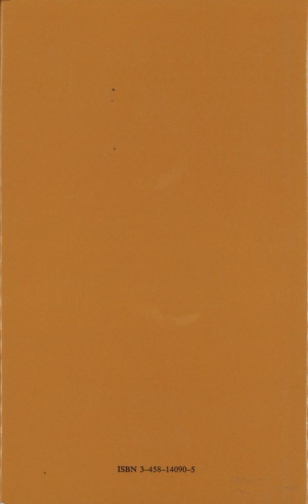 Philosophie des Zufalls, Band 1 - Rückencover