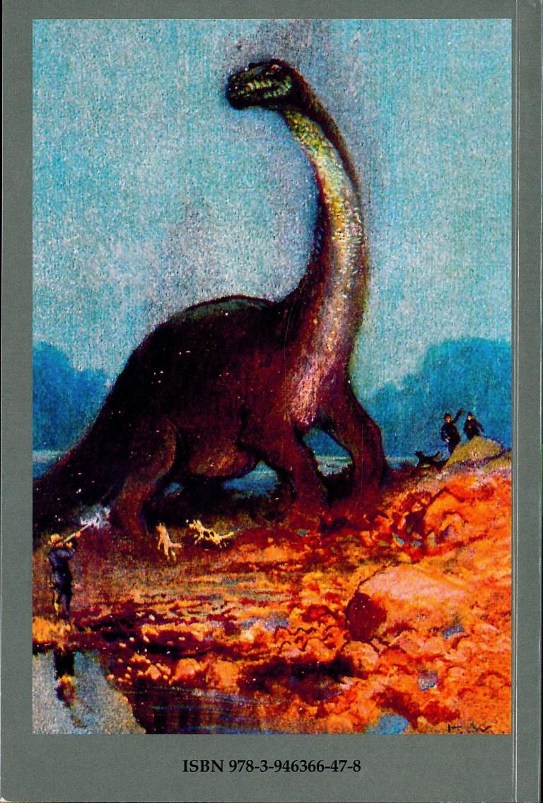 Von Sauriern und Reptilienmenschen - Rückencover