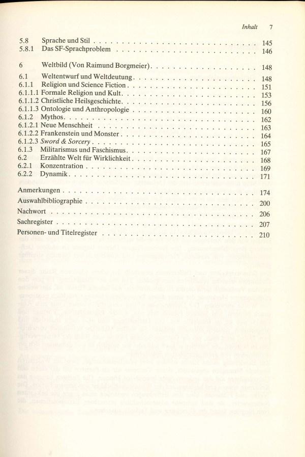 Science Fiction/Suerbaum - Inhalt Seite 3