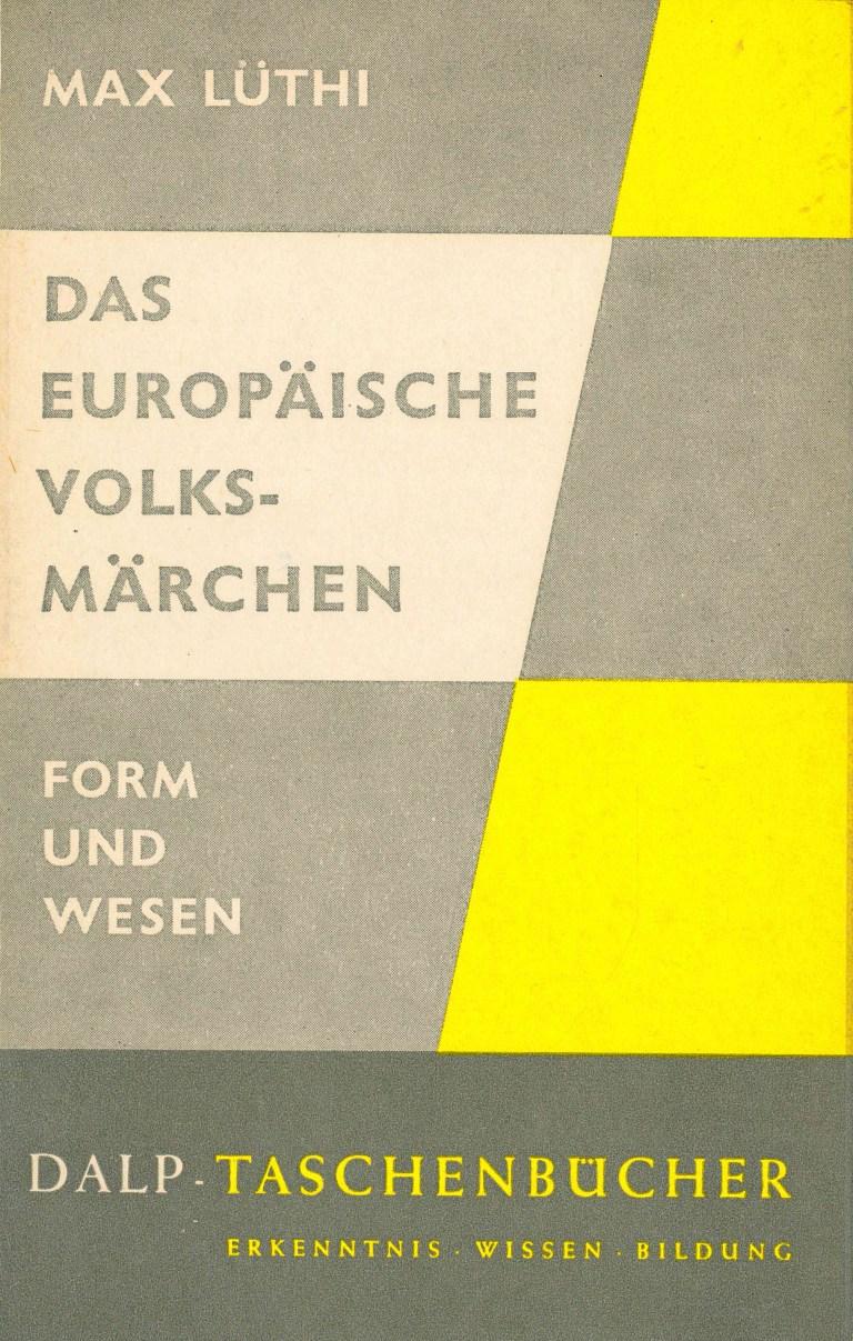 Das europäische Volksärchen - Titelcover