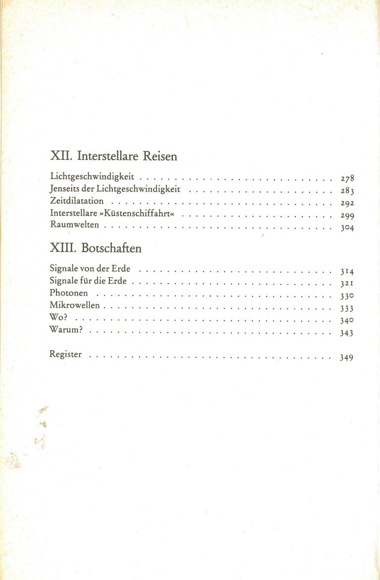 Ausserirdische Zivilisationen - Inhalt Seite 4